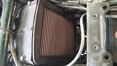Air filter exposed (JD and Beastlet) Tags: