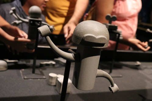 """Tracey's Robot Maquette - The Science Behind Pixar • <a style=""""font-size:0.8em;"""" href=""""http://www.flickr.com/photos/28558260@N04/42073385300/"""" target=""""_blank"""">View on Flickr</a>"""