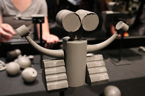 """Scott's Robot Maquette - The Science Behind Pixar • <a style=""""font-size:0.8em;"""" href=""""http://www.flickr.com/photos/28558260@N04/42073387440/"""" target=""""_blank"""">View on Flickr</a>"""
