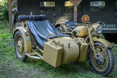 Alte Militärtechnik (berndtolksdorf1) Tags: motorrad militär technik oldtimer