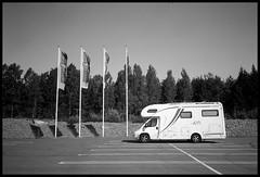 Summer parking (Micke Borg) Tags: rodinal fp4 ilford afc minolta säffle värmland sverige sweden