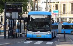 Arnhem 5235 Wilhelmsplein (TonyW1960) Tags: arnhem wilhelmsplein breng bxfn38 swisstrolley hess 5235