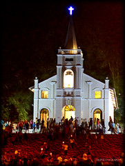 There's no one righteous. Saints included. (J316) Tags: j316 hell church penang malaysia a77 night