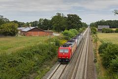 185 586 Westbevern 29-07-2018_00006 (Dirk Buse) Tags: ostbevern nordrheinwestfalen deutschland deu eisenbahn railway lokzug lokomotiven transport nrw germany train rail lok elok baureihe mft m43 mu43