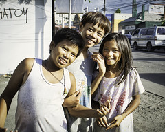 Happy Children (Beegee49) Tags: street children smiling laughing bacolod city philippines