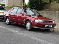 1990 Toyota Carina 1.6GL (Neil's classics) Tags: vehicle 1990 toyota carina 16gl