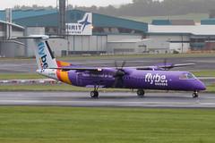 G-PRPM DHC-8Q-402 Flybe Prestwick 29.07.18 (Robert Banks 1) Tags: gprpm bombardier de havilland canada dash 8 dh8d dhc8 q402 dhc8q402 flybe bee be prestwick egpk pik