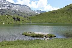 lac des Louchés (bulbocode909) Tags: valais suisse moiry grimentz valdanniviers lacdeslouchés lacs montagnes nature paysages nuages vert bleu rochers groupenuagesetciel
