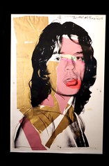 Mick Jagger 143, Andy Warhol, Exposition Ici Londres au MCQ