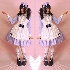 Angelic Pretty - Silky Lady (PrincessBufo) Tags: angelicpretty lolita lolitafashion sweetlolita maidlolita angeleeku