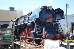 498.104 @ Kosice - Slovakia (uksean13) Tags: 498104 kosice slovakia rusnoparada2018 steam train transport railway rail depot turntable canon 760d efs1855mmf3556