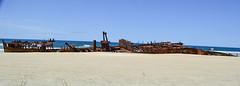 SS Maheno (Lisa M / /) Tags: fraser fraserisland island beach ship shipwreck wreck waves sand australia queensland sandisland qld nikon nikond5100 nikonaustralia nikondslr