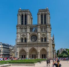 Notre Dame, Paris (Scottmh) Tags: 2018 europe notre paris cathedral d7100 dame france june nikon summer travel