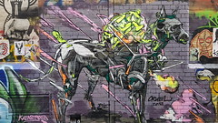 Cruel... (colourourcity) Tags: melbourne burncity colourourcity nofilters awesome streetart streetartaustralia streetartnow graffitimelbourne graffiti cruel cezarystulgis wtk tbk dog pup