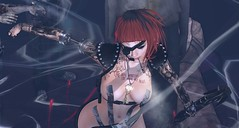Dancing in the Death (ℰżιℓι) Tags: fable3 romp thesecretaffair su epoch salt kokolores vtech swallow avatar bento bodysuit bracelets catwa ducttape event fashion feral luas maitreya razor rings secondlife tattoo wiccaswardrobe wr yasum
