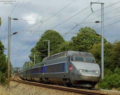 TGV Atlantique n°323 + 319 (ChristopherSNCF56) Tags: trains sncf train grande vitesse tgv atlantique 323 319 paris quimper rames