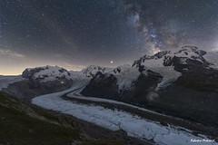 Ice and Stars (Croops Photo) Tags: milkyway night zermatt switzerland longexposure nature explore discovery adventure glacier mountains