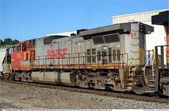 BNSF753GB_KansasCityMO_240718 (Catcliffe Demon) Tags: bnsf railways usa railroading dash944cw c449w generalelectric ge burlingtonnorthernsantafe atsf atchisontopekasantafe missouri usatrip11jul2018