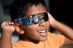 Diamond Bar Library - Solar Eclipse Activity (CEO_Countywide_Communications) Tags: losangelescounty library solar eclipse activity 2017 sd4 diamond bar science stem environment children families community protective eye gear viewing party