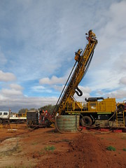 Drlling for gold north of Meekatharra WA (spelio) Tags: australia remote wa western june 2011 pilbara travel