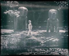 Predators & prey (michael_hamburg69) Tags: schleswigholstein büdelsdorf carlshütte kunst art nordart 2018 sculpture skulptur künstler artist sculptor davidčerný 19952000 babies baby fiberglass fiberglas park parkanlage