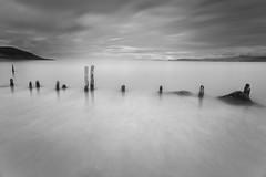 Eroded by Time (Ger208k) Tags: ireland kerry glenbeigh rossbeigh groynes beach longexposure minimalism tide le leebigstopper blackandwhite gerardmcgrath