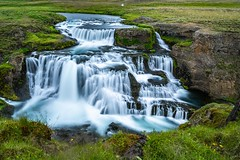 Reykjafoss (Einar Schioth) Tags: reykjafoss water waterfall river svarta svartá summer day canon coast cliff canyon nationalgeographic ngc nature landscape lake photo picture outdoor iceland ísland skagafjordur sigma2470 sigma leefilters einarschioth