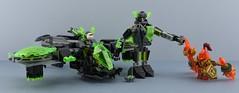LEGO 72003 Berserker Bomber⚔️ (Alex THELEGOFAN) Tags: lego legography minifigure minifigures minifig minifigurine minifigs minifigurines set nexo knight knights ship 72003 berserker bomber black gray