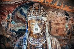 大足石刻 (BestCityscape) Tags: tradition culture travel attraction buddha shrine belief taoist confucian buddhist sculpture religion chungking sichuan tourism asia china rockcarvings historic art chongqing dazu