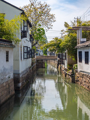 Canal Town (ccfs47) Tags: suzhou canal houses