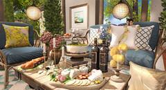 Live Like Royals (Sienna Skye Foxdale) Tags: applefall hayabusa hive ariskea digitalart homeandgarden homedesign interiordesign outdoors jian secondlife summer patio