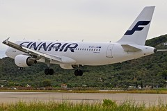 JSI/LGSK: Finnair Airbus A320-214 OH-LXM (Roland C.) Tags: jsi lgsk finnair airbus a320 a320200 ohlxm airport scathes greece aviation airplane plane aircraft airliner finland