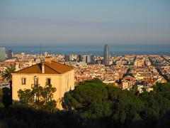 Barcelona des del Parc del Guinardó (tgrauros) Tags: barcelona guinardó parcdelguinardó catalunya catalonia catalogne katalonia cataluña