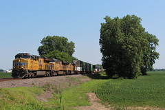 UP 8095 (CC 8039) Tags: up trains es44ac sd70m dupo illinois