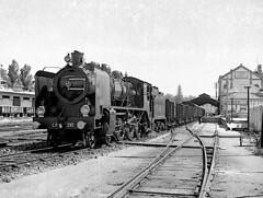 Loco 295-viana do castelo-31 May 1972 (filhodaCP) Tags: steamlocomotive cp comboiosdeportugal linhadominho museuferroviário ferroviário vapor máquinaavapor viana