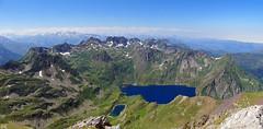pic Merlheu lac bleu 29 07 18 (Démocrite, atomiste dérouté) Tags: bigorre pyrénées picmerlheu lacbleu france vuepanoramique