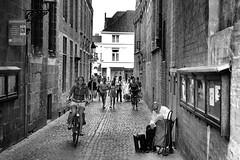 1585 (adnogstreets) Tags: brugge bruges belgium street streets belgie belgique girls women men sexy motorcycle moto water escaut noord zee mer du nord beach north