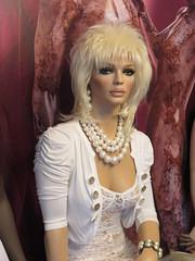 Rootstein Mannequin Jodie (capricornus61) Tags: rootstein display mannequin shop window doll dummy dummies figur puppe schaufensterpuppe art home indoor face body woman frau weiblich feminine lace blond sammeln collecting hobby