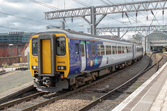 Northern 156452 (Mike McNiven) Tags: arriva railnorth northern sprinter liverpool limestreet warrington central manchester piccadilly airport dmu diesel multipleunit