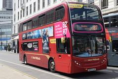 NXWM 4750 @ Corporation Street, Birmingham (ianjpoole) Tags: national express west midlands alexander dennis enviro 400 bv57xjp 4750 working route 87 corporation street birmingham dudley bus station