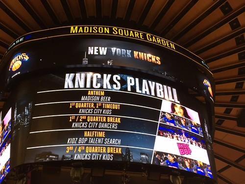 Madison Beer New York Knicks Anthem