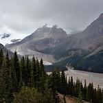 A Glacier Valley with Peyto Peak and Glacier (Banff National Park) thumbnail