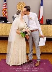 Wedding kiss (kathender1) Tags: flower wedding kiss bride groom