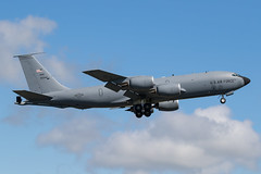 60-0342 KC-135T USAF Prestwick 09.08.18 (Robert Banks 1) Tags: 600342 00342 boeing kc135t kc135 k35r usaf united states air force prestwick egpk pik 92 141 arw