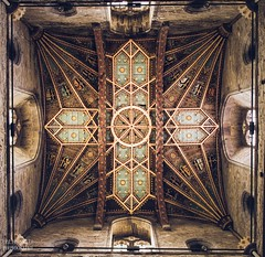 St David's Cathedral (Ollie Smith Photography) Tags: stdavidscathedral pembrokeshire westwales church religion roof art geometrical nikon d7200 sigma1750 f28 lightroomcc edited alwayslookup cropped