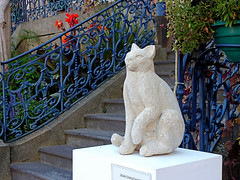 Chat, Jean Chauchart (Raymonde Contensous) Tags: exposition art jeanchauchard sculptures chat auvergne puydedôme issoire