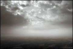 Flying away (Jonas Thomén) Tags: clouds moln drone drönare flygbild aerial dji mavic air monochrome monokrom svartvit blackandwhite dreamy