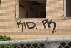 KID PK (TheGraffitiHunters) Tags: graffiti graff spray paint street art colorful nj new jersey bando abandoned building kid pk