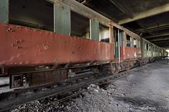 Ceux qui m'aiment prendront le train. (Fallowsite) Tags: urbex urbanexploration explorationurbaine friche forgottenplace lieuxoubliés ancienne abandonnée abandonned desaffectée decay decayed d610 nikon hdr decrépitude vieille oldplace lostplace trains