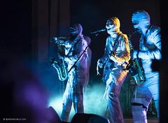 Here Come the Mummies! (mobybick2) Tags: herecomethemummies events cedarburgsummersounds artistsandbands musicgenres cedarburgparkbandshell cedarburg wisconsin funkadelic places venues 2018 bassguitar saxophone trumpet